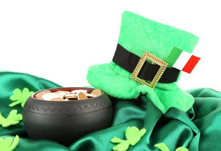 Írske zelené dekorácie, írske zelené doplnky
