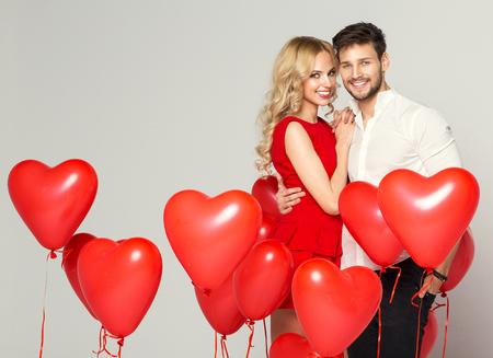 Valentínske balóny, valentínske dekorácie, valentínske doplnky