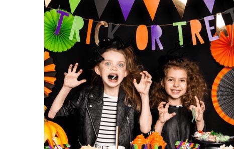 Halloween pre deti, detské halloweenske motívy