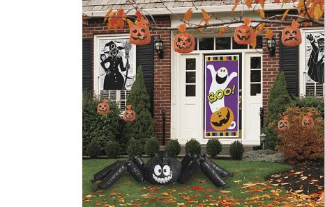 Halloweenske dekorácie do záhrady