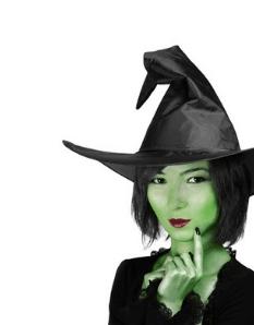 Čarodejnícke klobúky, klobúky na Halloween