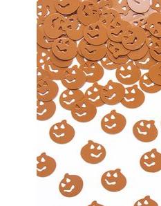 Halloweenske konfety