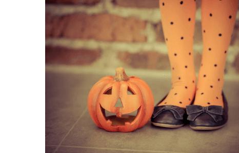 Halloweenske doplnky, parochne, čelenky, pančuchy