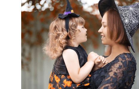 Halloweenske kostýmy pre deti a dospelých, detské kostýmy halloween