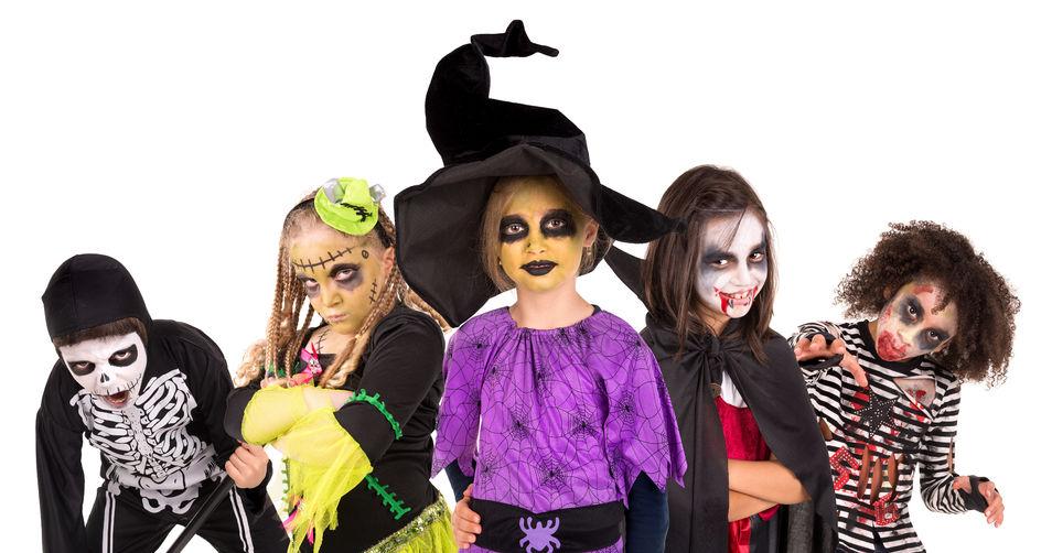 Kostýmy na Halloween, dětské kostýmy na halloween