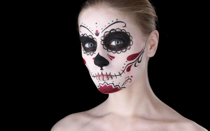 Make-up na Halloween