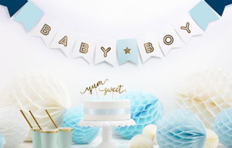 Oslava narození miminka, baby shower