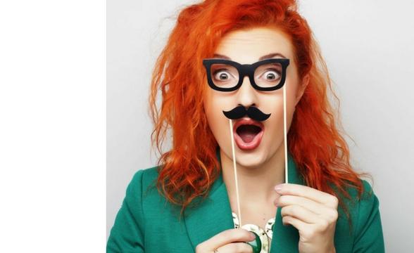 Vtipné okuliare na párty, foto doplnky, párty kobúky a korunky