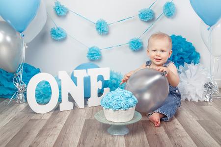Themen den ersten Geburtstag für Jungen feiern