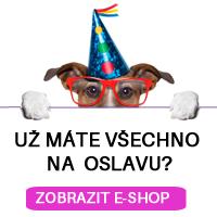Vše na oslavu na e-shopu