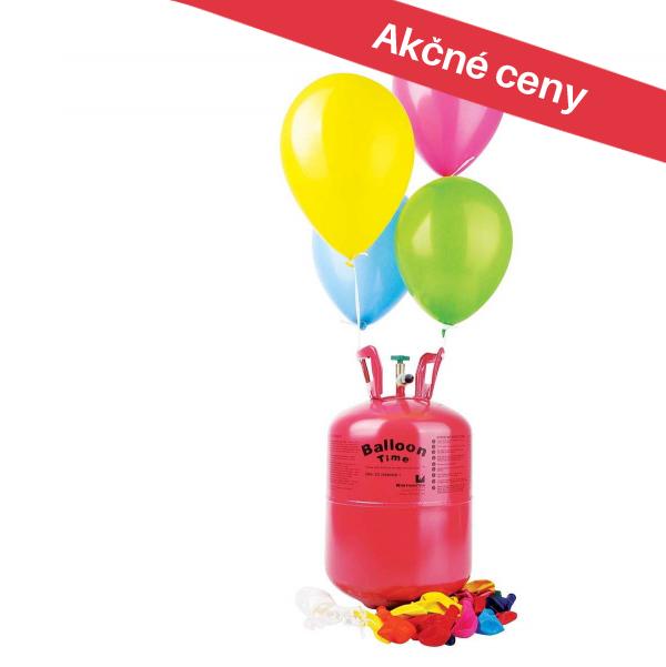 Výhodné helium do balónků
