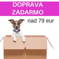 Doprava zadarmo pre objednávky nad 79 eur