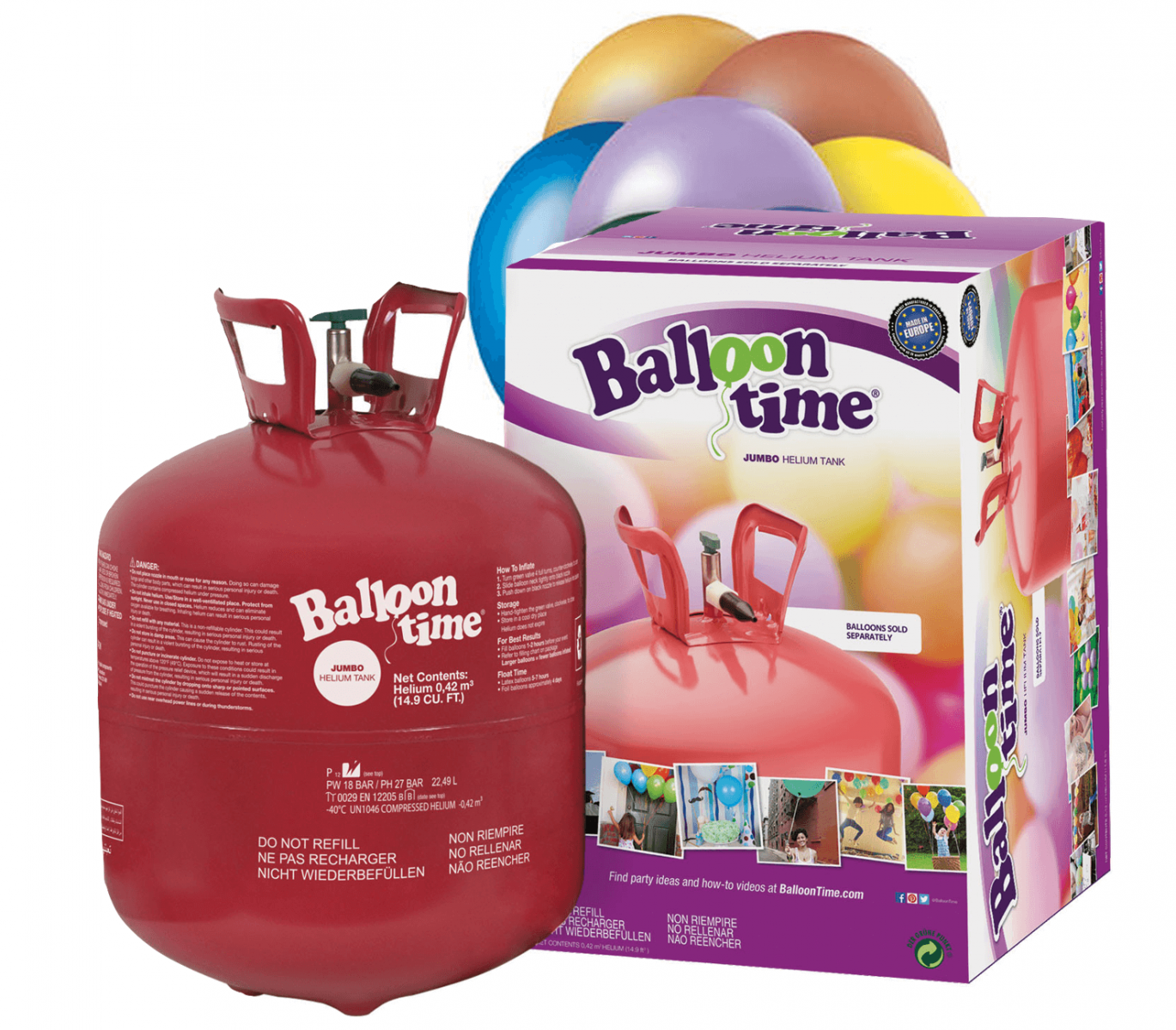 Hélium pallack