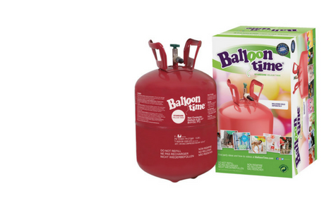 heliova lahev bomba