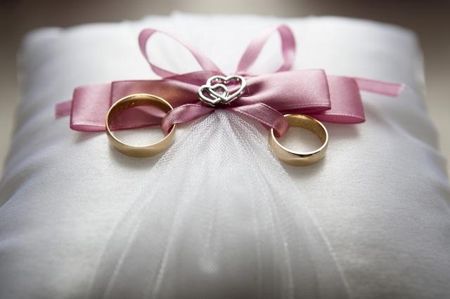 Polštář pod obroučky, prsteny