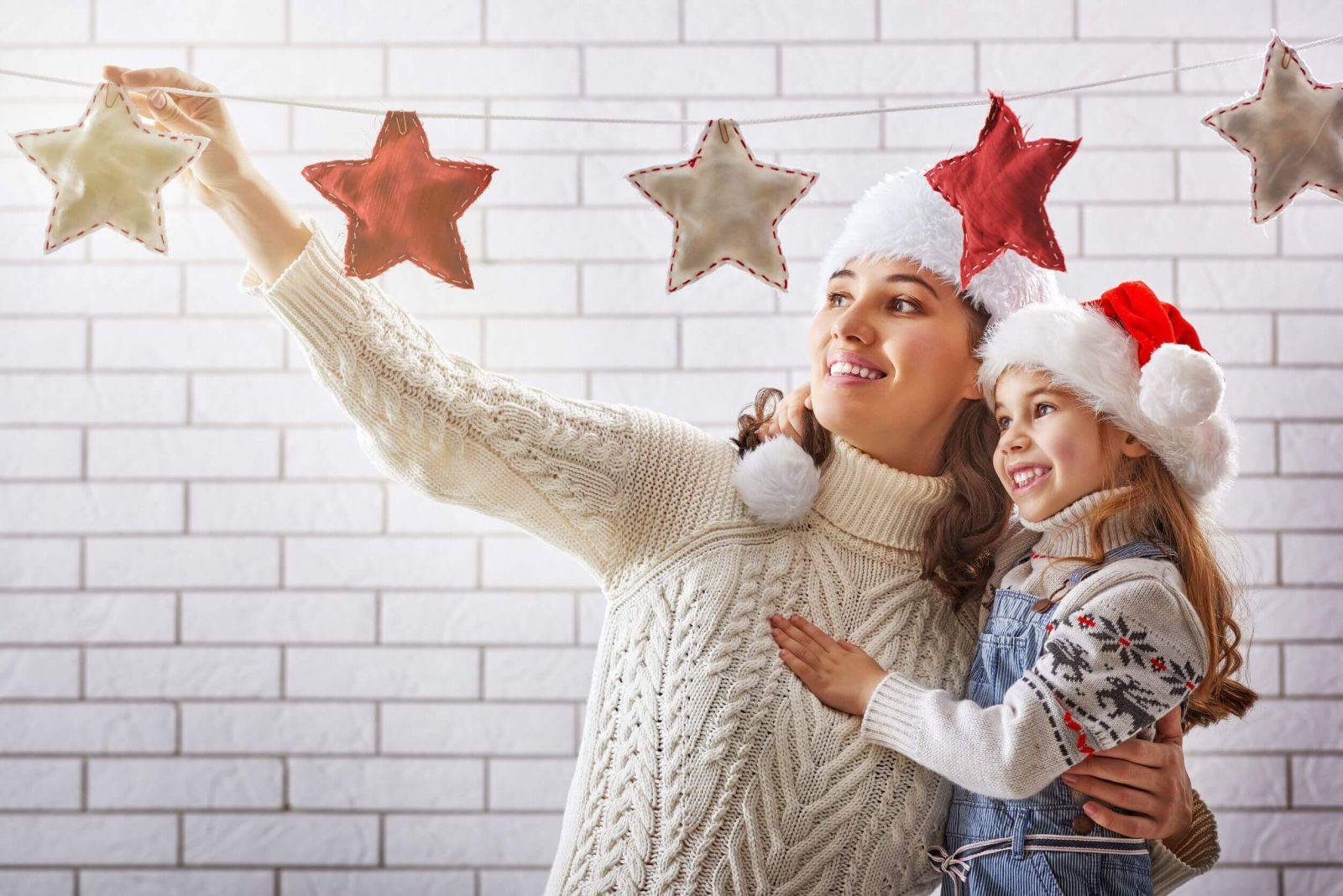 Vianočné visiace dekorácie