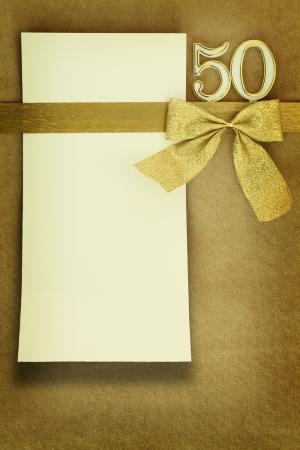 50. výročí svatby