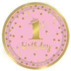 1. narodeniny ružové