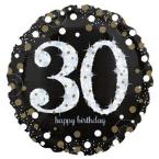 Fóliové balóny narodeninové s číslom