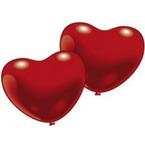 Srdcové balóny latexové