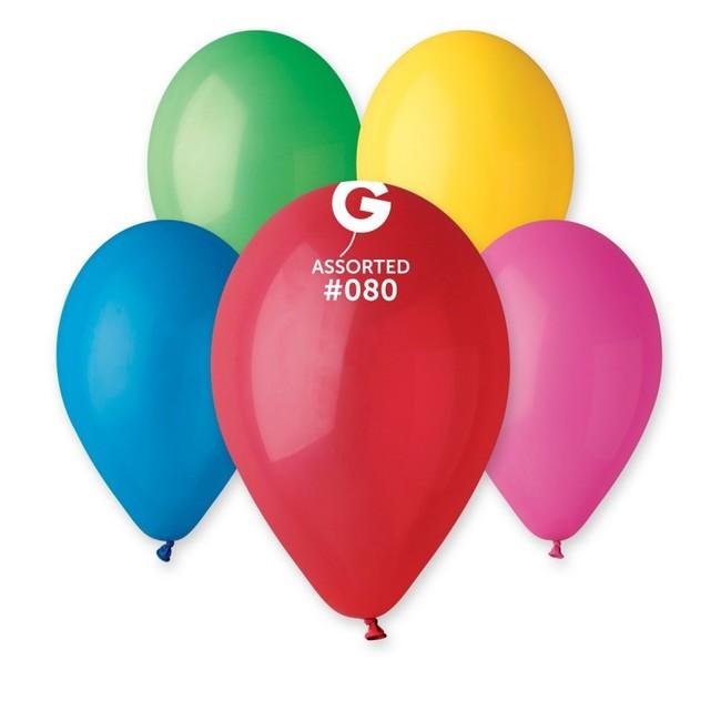 Gemar Balóny farebný mix 30cm 10ks