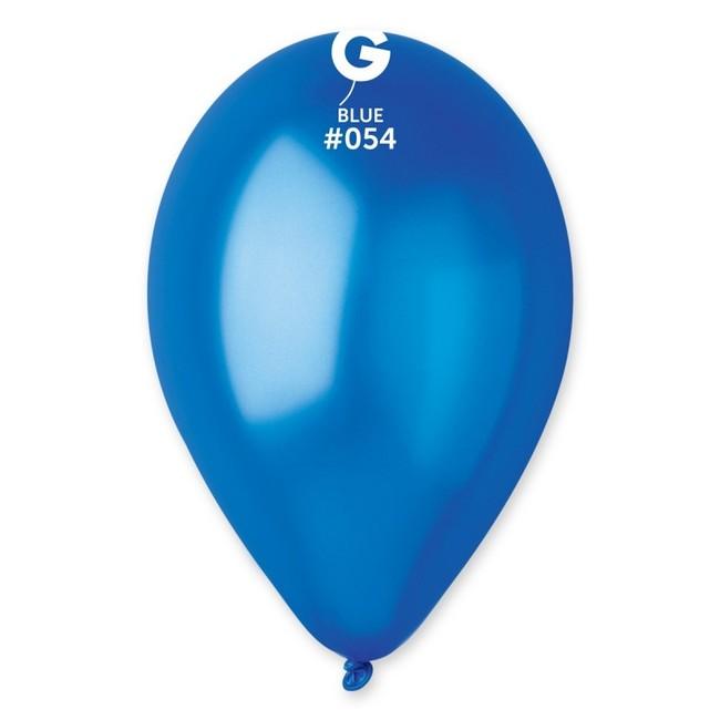Gemar Balóny metalické modré 30cm 50ks