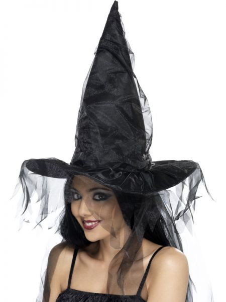 eea319979 Čarodejnícky klobúk čierny - PARTYSPIRIT.SK