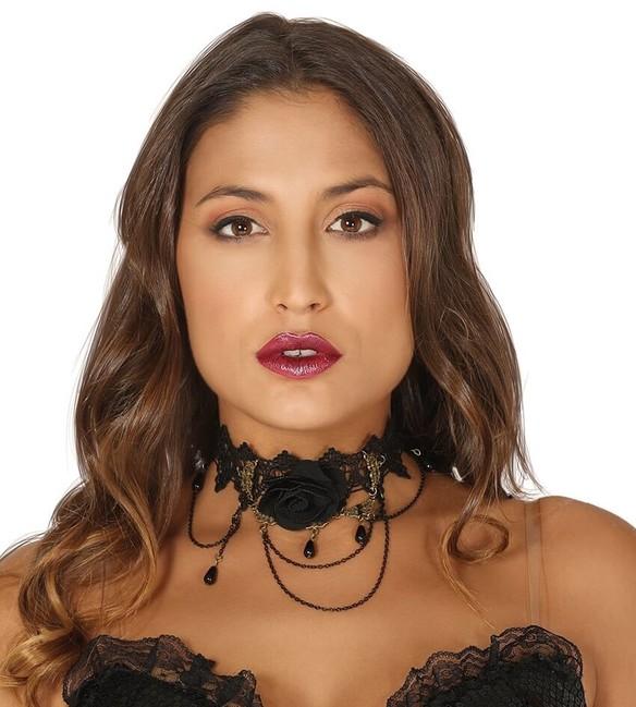 Guirca Čierny náhrdelník - obojok