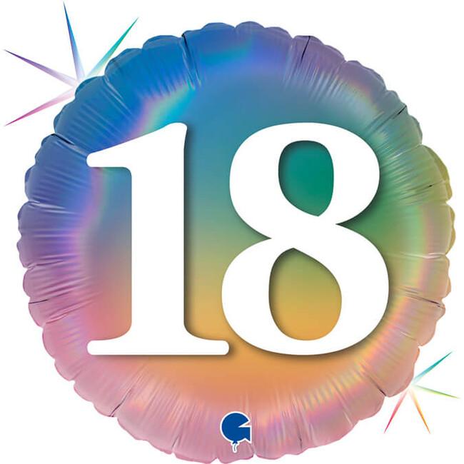 Grabo Fóliový balón 18 narodeniny dúhový 46cm