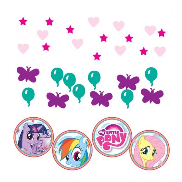 Amscan Konfety My little pony 34g