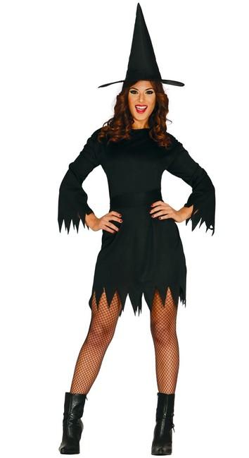 Guirca Kostým Čierna čarodejnica M