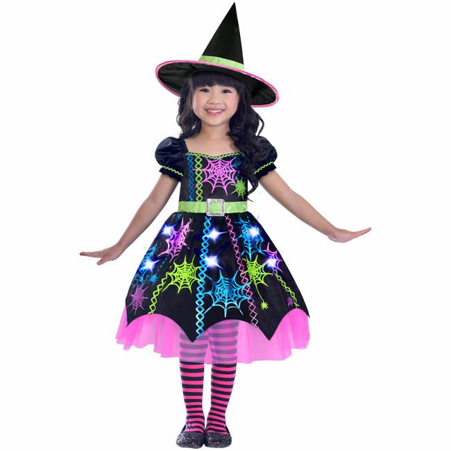 Amscan Kostým Pavučinová Čarodejnica 3-4 roky