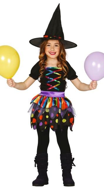 Guirca Kostým Pruhovaná čarodejnica 10-12 rokov