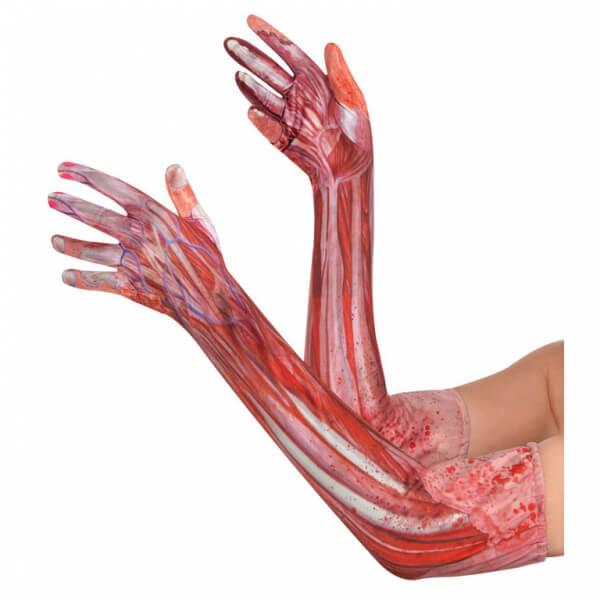 Amscan Krvavé návleky na ruky