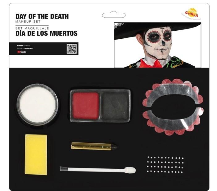 Guirca Make-up sada Day of the Dead (7ks)