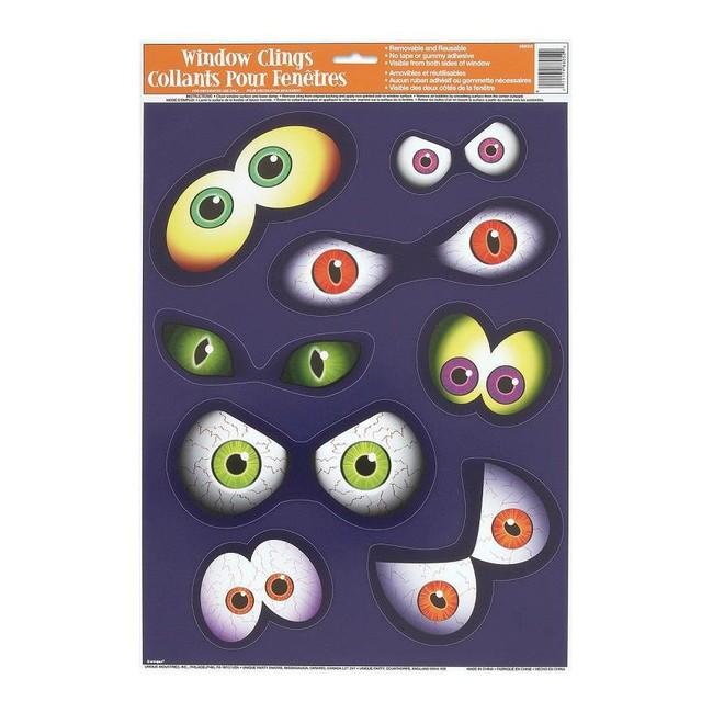 Unique Nálepky na okno Strašidelné Oči