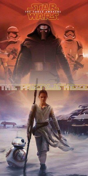Procos Plagát na dvere Star Wars The Force Awakens 150x75cm
