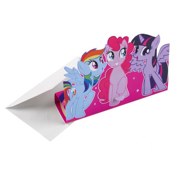Amscan Pozvánky My Little Pony 8ks
