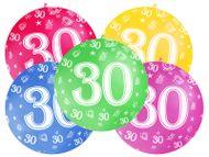 Balón veľký 30. narodeniny