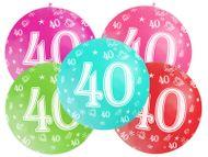 Balón veľký 40. narodeniny