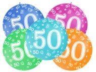 Balón veľký 50. narodeniny