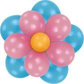 Balónová dekoračná sada Flower