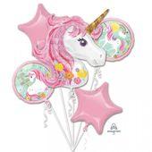 Balónová kytica Kúzelný jednorožec