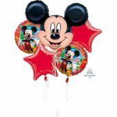 Balónová kytica Mickey Mouse Birthday