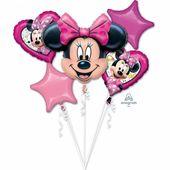 Balónová kytica Minnie Happy Helpers
