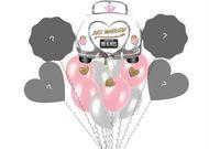 Balónová kytica - vlastná