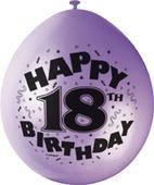 """Balóny """"18"""" Brilliant birthday"""