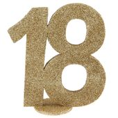 """Číselná dekorácia """"18"""