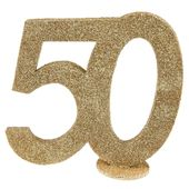 """Číselná dekorácia """"50"""