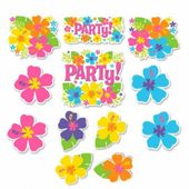 Dekorácie Hawai party